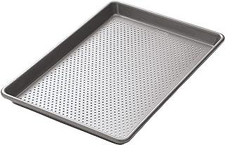 Kitchencraft Chicago metálico profesional perforado antiadherente bandeja de horno, 38cm x 25cm (15