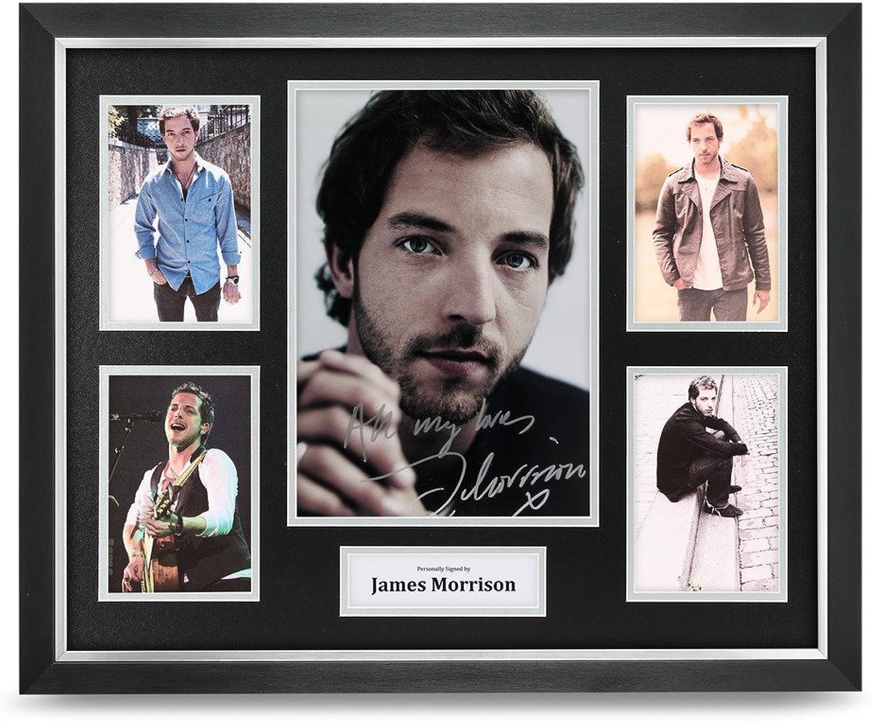 James Morrison Signed Photo Large Framed Music Memorabilia Autograph Display COA