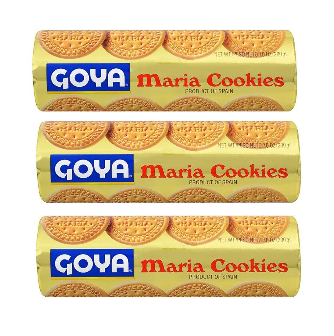 Goya Maria Cookies (3 Pack, Total of 21oz)