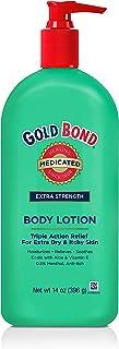 Sponsored Ad - Gold Bond Medicated Body Lotion Extra Strength, 06412 Aloe Vera 14 Ounce