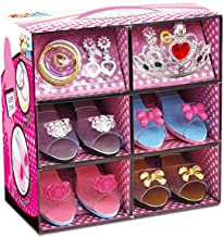 ToyVelt Princess Dress Up & Play Shoe and Jewelry Boutique (Includes 4 Pairs of Shoes + Multiple Fashion Accessories) Best Toys for 3, 4, Year Old Girls and Up