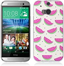 HTC One M8 Case,Gift_Source [Anti-Slip] Ultra Thin Protective Case Colorful 3D Emboss Print Soft TPU Rubber Cover Clear Shock-Absorbing Bumper for HTC ONE M8 (5.0