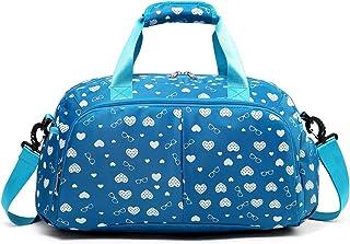 حقيبة رياضية للأطفال من MUUQUSK مناسبة للصغار والبنات الصغيرة مناسبة للسفر في عطلة نهاية الأسبوع والنساء، مناسبة للمراهقات