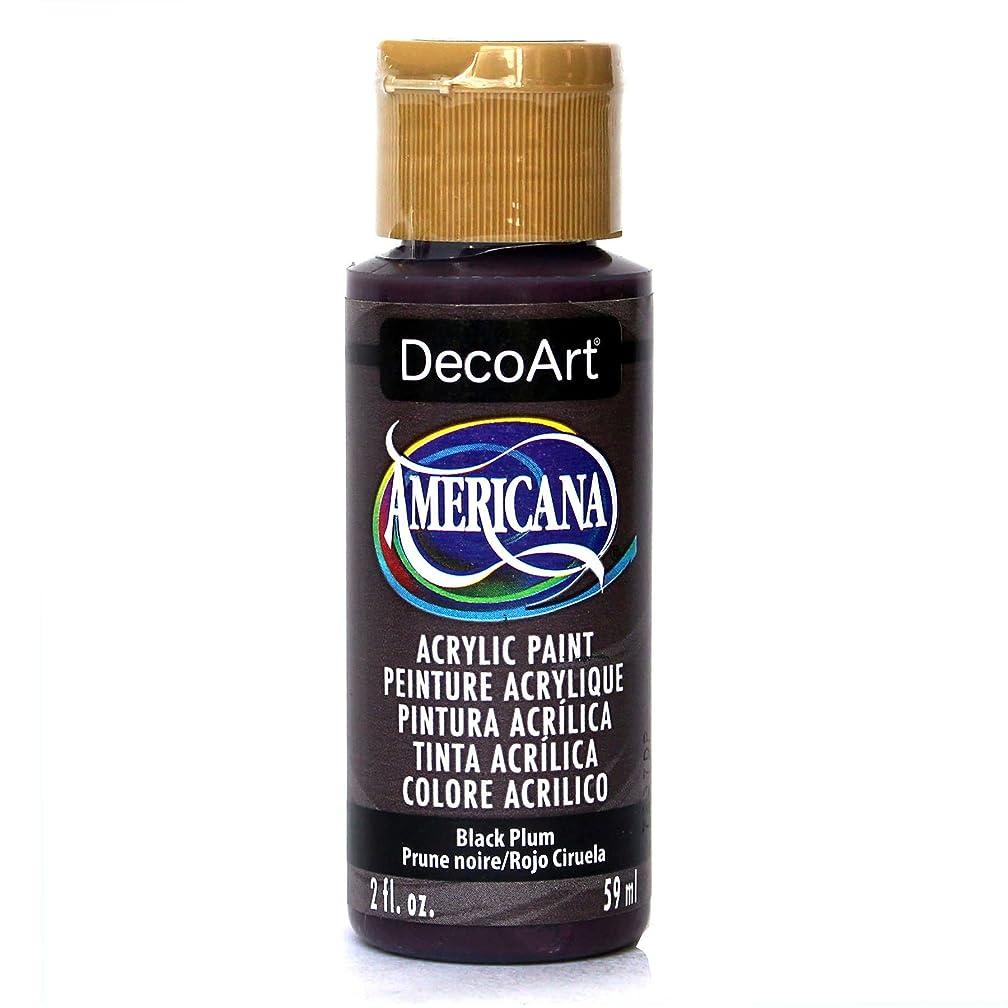 DecoArt Americana Acrylic Paint, 2-Ounce, Black Plum