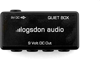 The Quiet Box 9 volt power filter & power distribution (compatible with Voodoo Labs, The One Spot, other 9 volt negative center adapters)