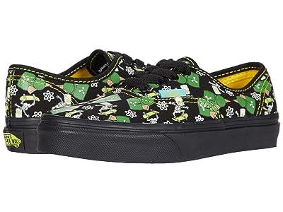 Vans Kids Vans X The Simpsons Sneaker Collection (Little Kid) ((The Simpsons) Glow Bart (Authentic)) Kids Shoes