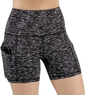 ODODOS High Waist Out Pocket Yoga Short Tummy Control...
