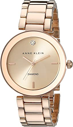 Anne Klein - AK-1362RGRG Diamond Dial Watch