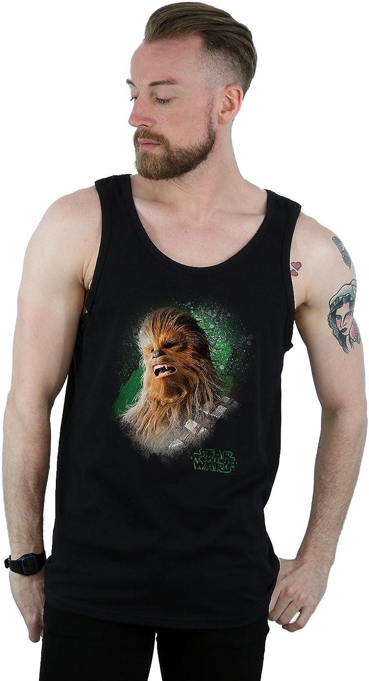 STAR WARS Men's The Last Jedi Chewbacca Top Seattle Mall Brushed Tank Popular Medium