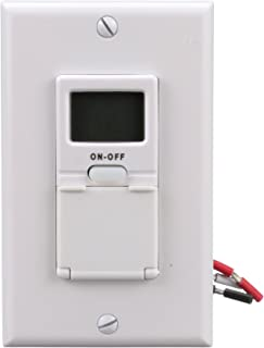 Woods 59018WD In-Wall 7-Day Digital Timer