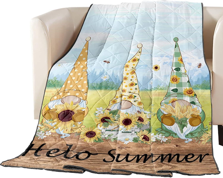 Arts Sales for sale Print Twin Size Quilt Alternative dealer Throw Lightweight Soft All Bedspread