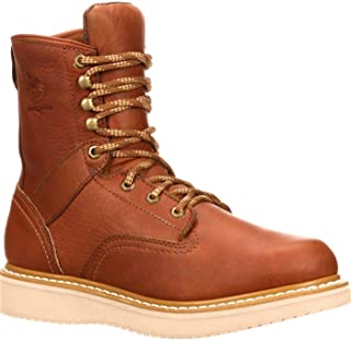 "Georgia Men`s 8"" M Wedge Work Boot"