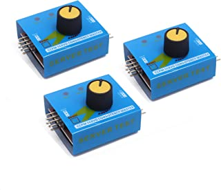 SongHe 3pcs RC Servo Tester 3CH Digital Multi ECS Consistency Speed Controller Checker Adjustment Steering Gear Tester CCP...