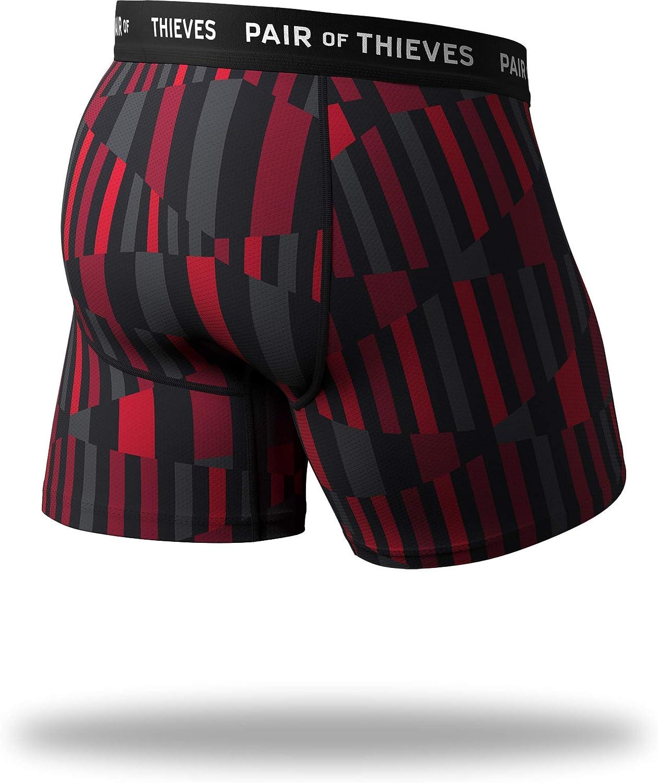 Pair of Thieves Super Fit Men's Boxer Briefs, 3 Pack Underwear, AMZ Exclusive