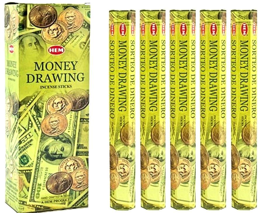 検索エンジン最適化に対処するダイエット裾Money Drawing 100?Incense Sticks (5?x 20スティックパック)
