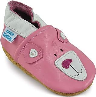 17f6c3f026c85 Juicy Bumbles Chaussures Bébé - Chaussons Bébé - Chaussons Cuir Souple -  Chaussures Cuir Souple Premiers