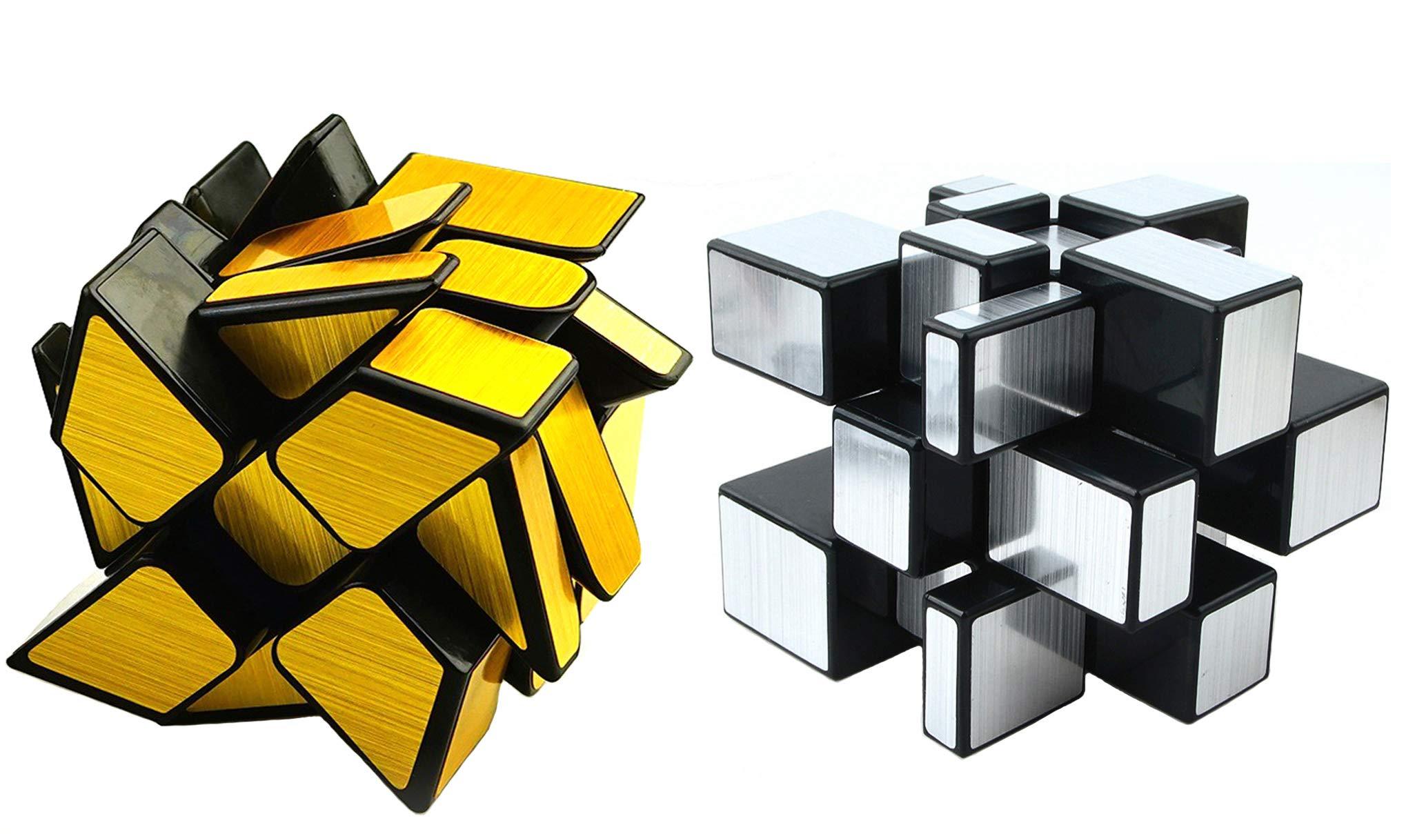 Mirror Speed Cube Set 2 Pack Of 3x3 Mirr Buy Online In Cambodia At Desertcart