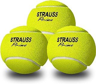 كرة كريكيت خفيفة الوزن من ستراوس، عبوة من 3 كرات (لون اصفر)