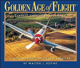 Best golden age of flight desk calendar 2019 Reviews