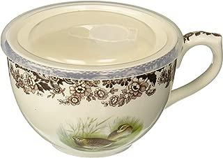 Spode 1622470 Woodland Jumbo Cup w/Lid (Quail)