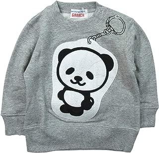 《秋冬春对应》 GARACH(GARACH) 毛圈布 钥匙扣熊猫运动衫 NO.AH-1831607 [対象] 72ヶ月 ~ MG 120