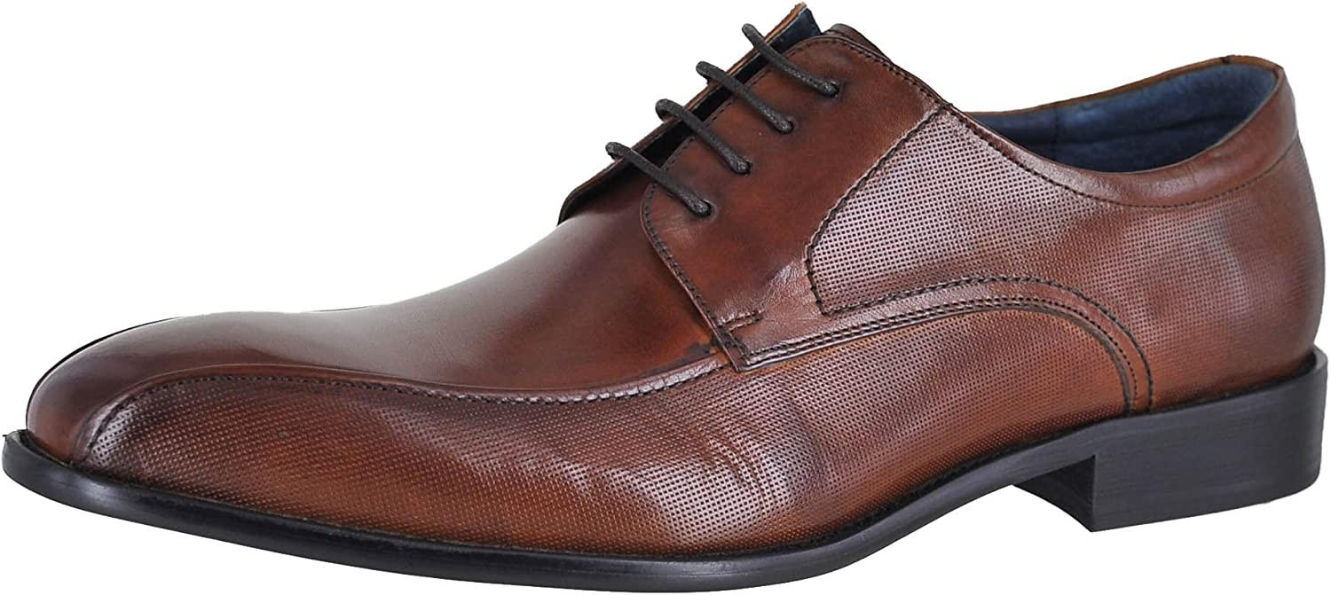 Stacy Adams Mens Julius Leather Lace Up Dress Oxfords