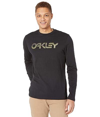 Oakley Mark II Long Sleeve Tee (Blackout) Men