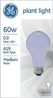 GE 41624-6 Plant Light A19, 60-Watt, 6-Pack