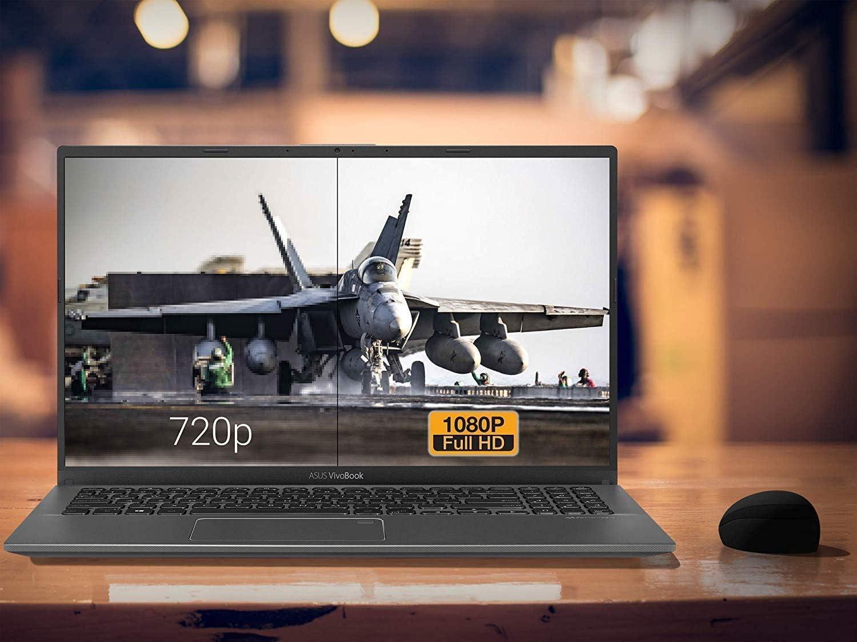 "Amazon.com: ASUS VivoBook F512DA Laptop, 15.6"" FHD Display, AMD Ryzen 3 3200U Upto 3.5GHz, 4GB RAM, 128GB SSD, Vega 3, HDMI, Card Reader, Wi-Fi, Bluetooth, Windows 10 Home : Electronics"