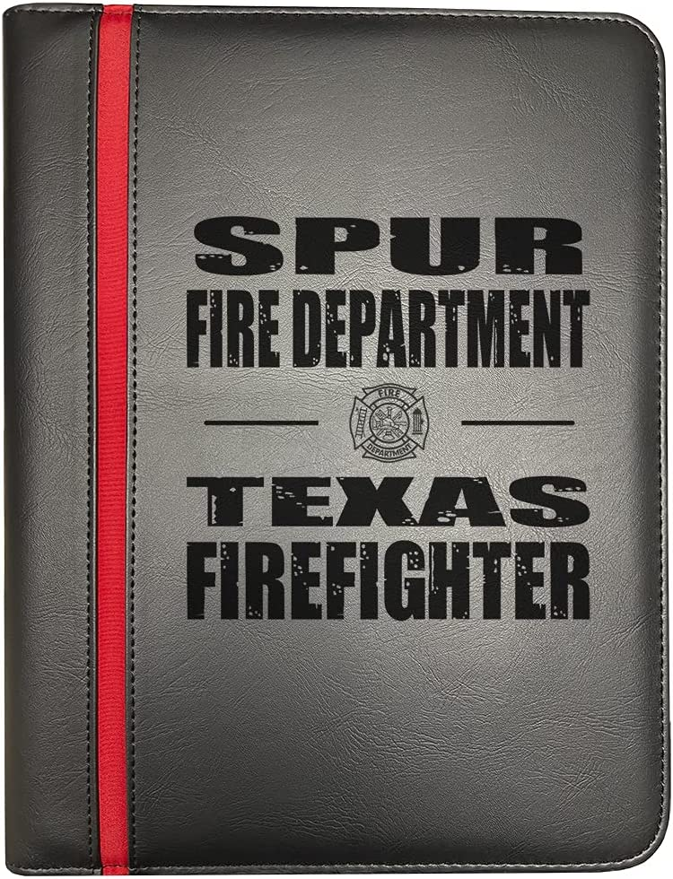 Compatible Ranking TOP7 with 2021 spring and summer new Spur Texas Fire Departments Firefighter Thin Red