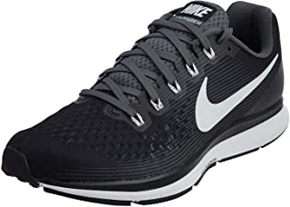 Nike Men's Air Zoom Pegasus 34 Running Shoe (14 M US, Black/Dark Grey/Anthracite)