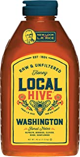 Local Hive Washington Raw & Unfiltered Honey, 40oz