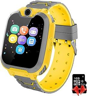 comprar comparacion Reloj inteligente para niños Telefono, Lata Realiza Llamadas Mensajes Mp3 Musica Reloj Infantil Reloj Digital Reloj Desper...