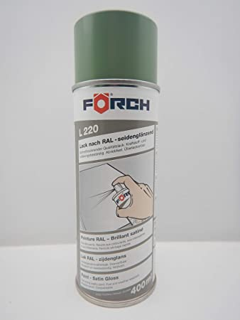 Förch MaschinengrÜn Sg GrÜn Ral 6011 Lack Lackspray Spray Spraydose 400ml 1 Auto