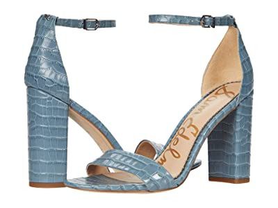 Sam Edelman Yaro (Smokey Blue Lucea Dress Croco Leather) Women