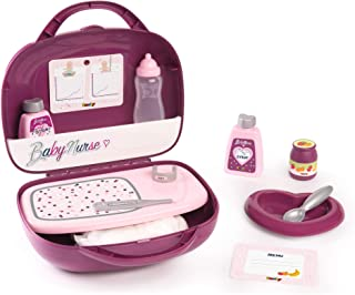 Smoby - Baby Nurse - Vanity - Pour Poupons et Poupées - 12 Accessoires Inclus - 220341