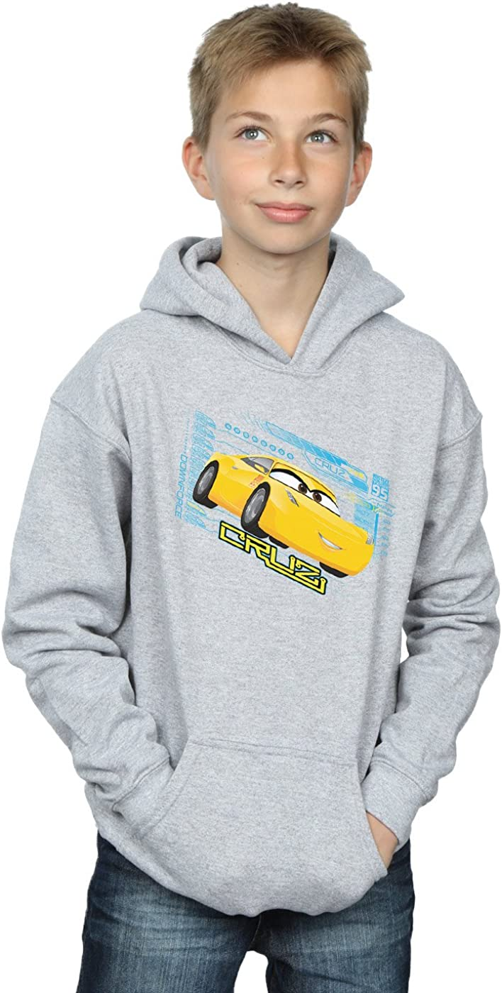 Disney Boys Cars Cruz Ramirez Hoodie 12-13 years Sport Grey