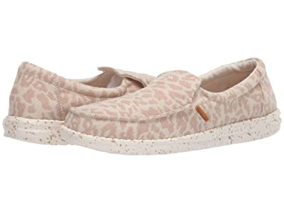 Hey Dude Misty Woven (Cheetah Tan) Women