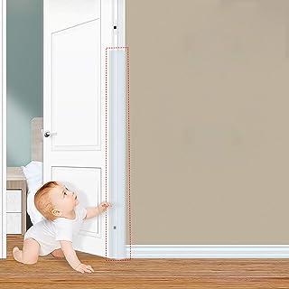 Kaite Key ドアへの指挟み防止器具 隙間カバー ドア フィンガーガード 赤ちゃん ベビー 子供 手 指 はさみ 挟み ガード 防止 安全対策 (17cm ×120cm) + (10cm ×120cm)