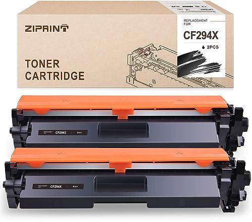 high quality ZIPRINT Compatible Toner Cartridge Replacmenet for HP high quality 94X CF294X Toner (High 2021 Yield, Black, 2-Pack) sale