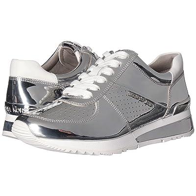 MICHAEL Michael Kors Allie Wrap Trainer (Silver) Women