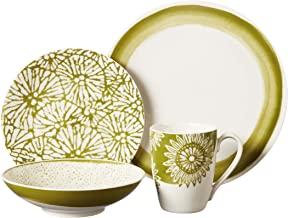 Lenox Market Place 4-Piece Dinnerware Place Setting, Moss