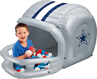 Ball Pits for Kids, Dallas Cowboys Ball Pit with 50 Balls, Toddler Jungle Gym Playhouse Inflatable for Boys Girls Kids Infants & Baby [Balls Included]