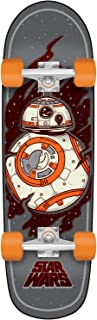 Santa Cruz Star Wars Episode VII BB8 Cruzer Complete Skateboard, Assorted, 30.75in