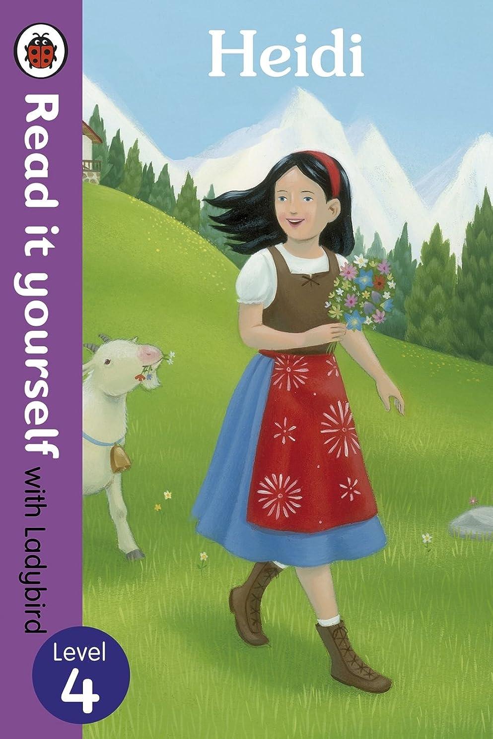 脊椎投資レッドデートHeidi - Read it yourself with Ladybird: Level 4 (English Edition)