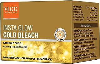 VLCC Insta Glow Gold Bleach, 30.5gms