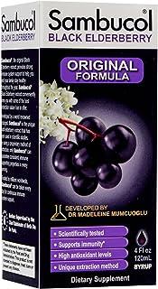 Sambucol Black Elderberry Original Syrup-4 oz