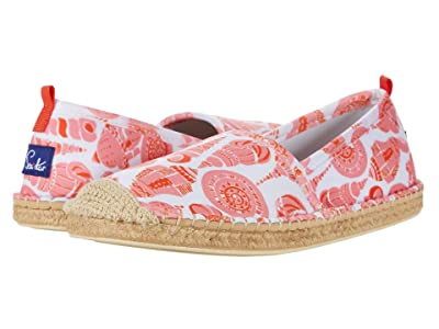 Sea Star Beachwear Beachcomber Espadrille Water Shoe (Coral Shell Print) Women