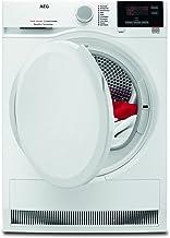 AEG T7DB60470 Wäschetrockner / 8 kg Schontrommel / effizienter Wärmepumpentrockner mit Mengenautomatik / A 277 kWh pro Jahr / niedrige Trocknungstemperaturen für feine Stoffe / weiß