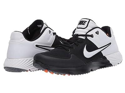 Nike Alpha Huarache Elite 2 Turf (Black/White) Women
